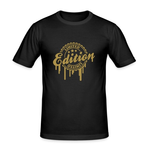 Limited Edition Klassik Gold - Männer Slim Fit T-Shirt