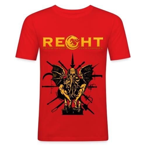 T-Shirt REGHT Cthulhu Homme - T-shirt près du corps Homme