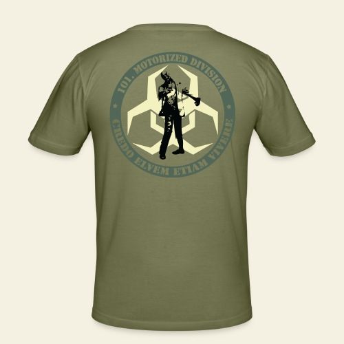 Cand. Zomb. Hunt - Response Team - Herre Slim Fit T-Shirt