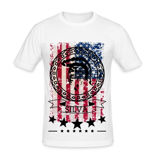 AMERICAN INDIAN - Männer Slim Fit T-Shirt