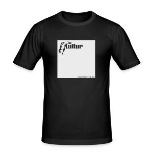 Tanz-Kultur Audio (Slim-Fit T-Shirt) Bright - Männer Slim Fit T-Shirt
