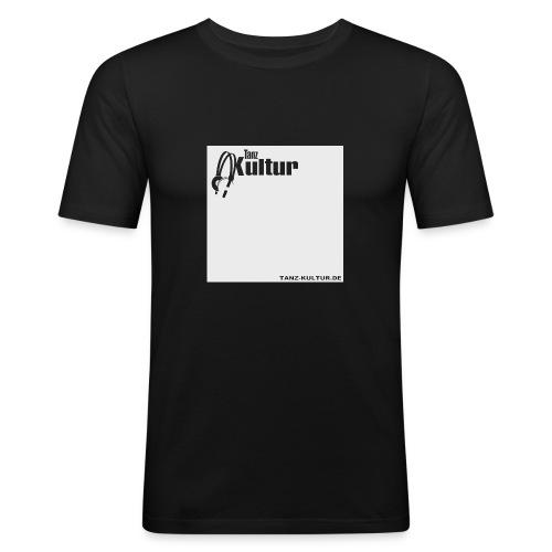Tanz-Kultur Audio (Slim-Fit T-Shirt) Bright - Männer Slim Fit T-Shirt