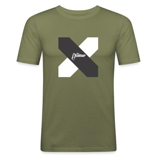 Tanz-Kultur Cross PRIVAT - Männer Slim Fit T-Shirt