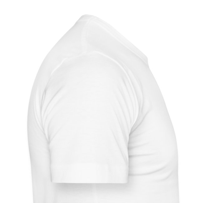 T-shirt Men Slim Fit - beautifully broken - white