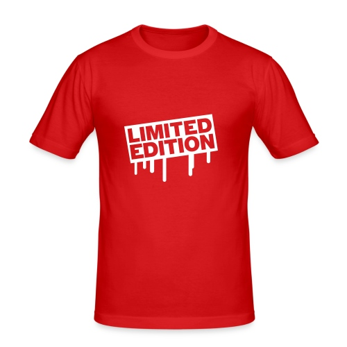 Limited edition mannenshirt  - Men's Slim Fit T-Shirt
