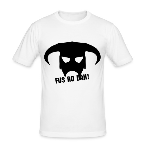 FUS RO DAH! - Men's Slim Fit T-Shirt
