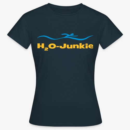 H²O-Junkie - Frauen T-Shirt
