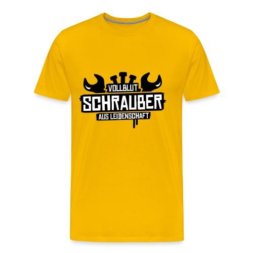T-Shirt Herren Vollblut Schrauber - Männer Premium T-Shirt