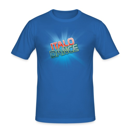 ITALODANCE Original T-shirt - Men's Slim Fit T-Shirt