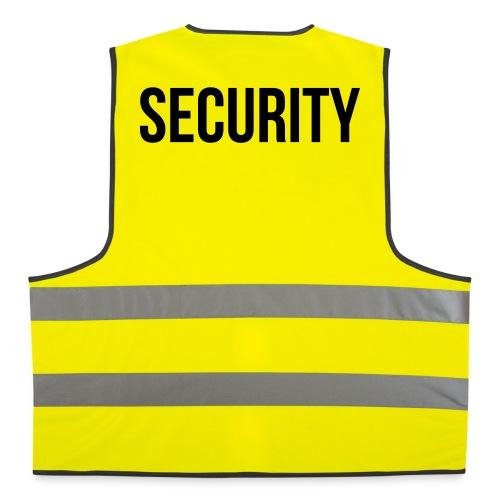 Security (schwarz) - Warnweste