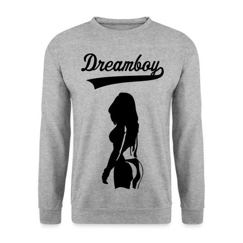 Sweatshirt, Dreamboy, Hellgrau - Männer Pullover