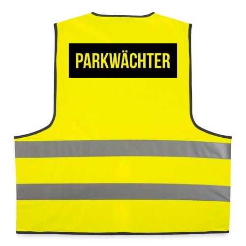 Parkwächter (schwarz) - Warnweste