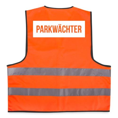 Parkwächter (weiß) - Warnweste
