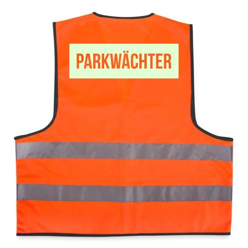 Parkwächter (im Dunkeln leuchtend) - Warnweste