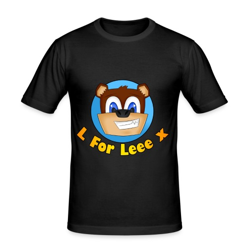 L for Leee x - Men's T-Shirt - Men's Slim Fit T-Shirt
