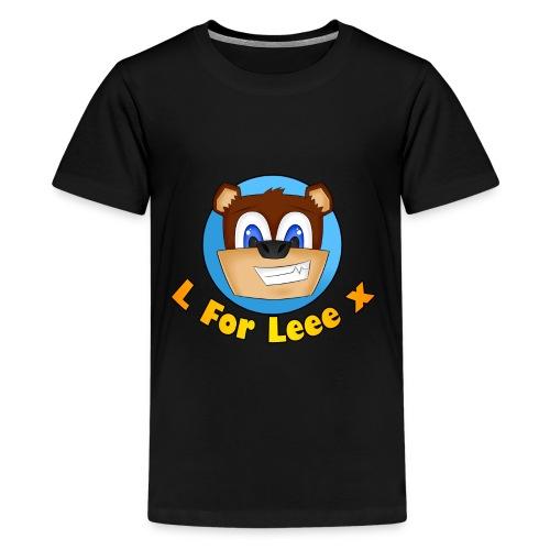 L for Leee x - Teenage Premium T-Shirt - Teenage Premium T-Shirt
