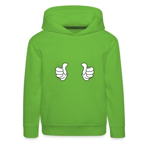 Thumbs up cool - Pull à capuche Premium Enfant