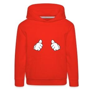 Thumbs up pouce en l'air - Pull à capuche Premium Enfant