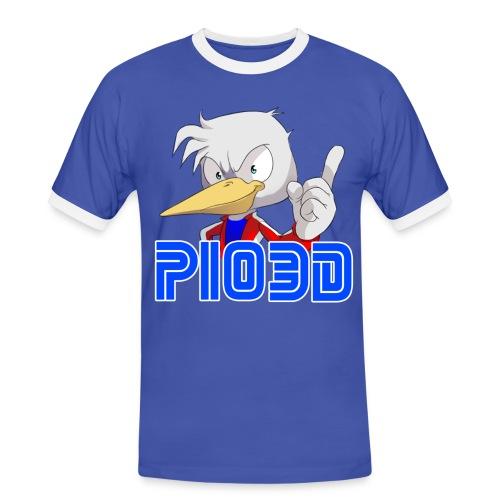 Pio3D Classic T-Shirt - Maglietta Contrast da uomo