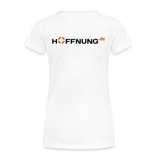 Hoffnung.de T-Shirt Frauen  - Frauen Premium T-Shirt