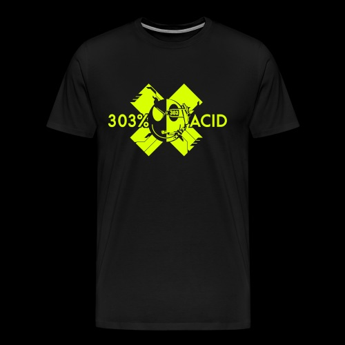 LOGO ACIDTEKNO V2 - Men's Premium T-Shirt