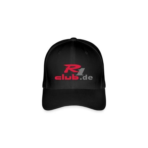 R1club-Cap rot - Flexfit Baseballkappe