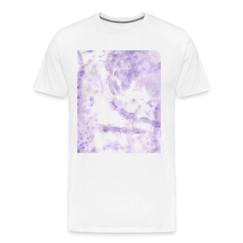Lilac Swirl tee - Men's Premium T-Shirt