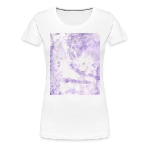 Lilac Swirl tee - Women's Premium T-Shirt