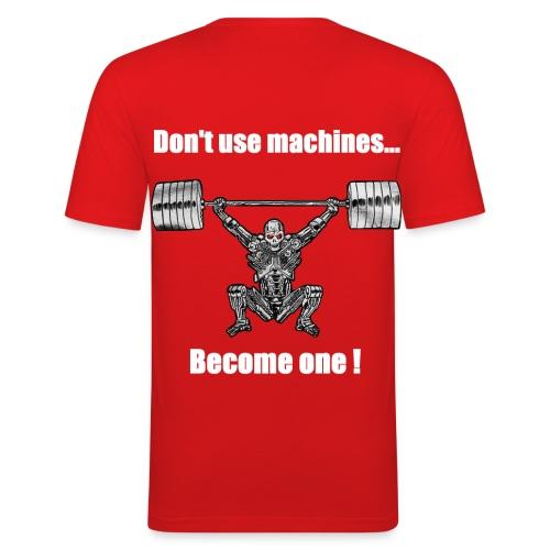 T-shirt Robot Dos Moulant - T-shirt près du corps Homme