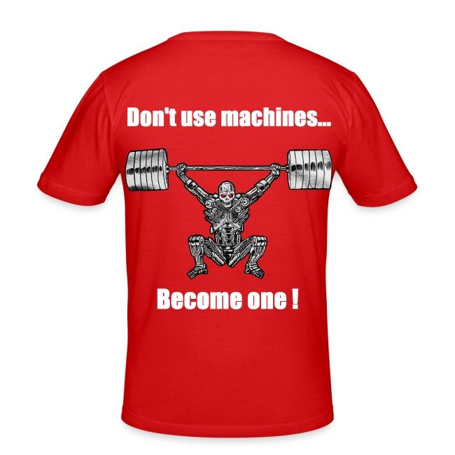T-shirt Robot Dos Moulant