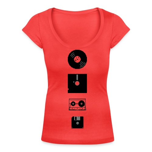 Multi Media Girlie - Women's Scoop Neck T-Shirt