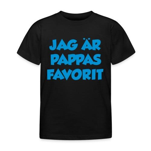 Jag är pappas favorit - T-shirt barn