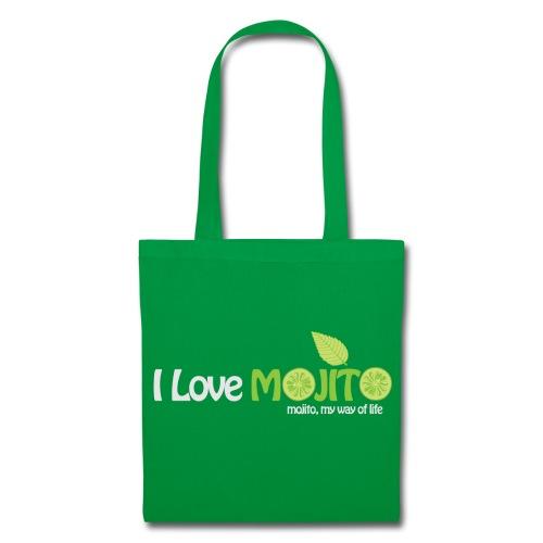 I LOVE MOJITO - Sac Vert - Tote Bag