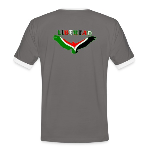 Liberter  - T-shirt contrasté Homme