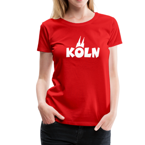 KÖLN T-Shirt S-3XL (V.2.0) - Frauen Premium T-Shirt