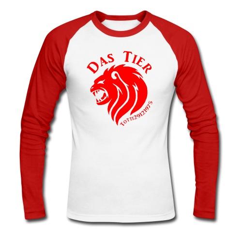 Rote Eskalation - Männer Baseballshirt langarm