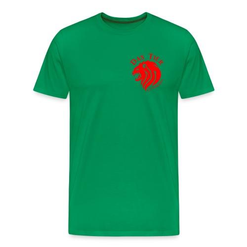 Das Premium-Tier - Männer Premium T-Shirt