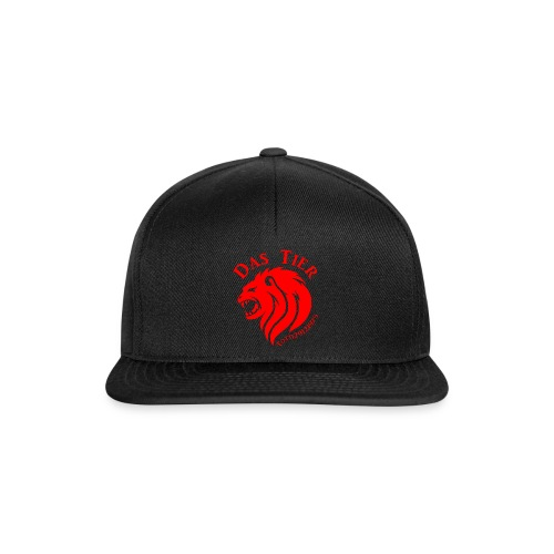Das Tier sieht rot! - Snapback Cap