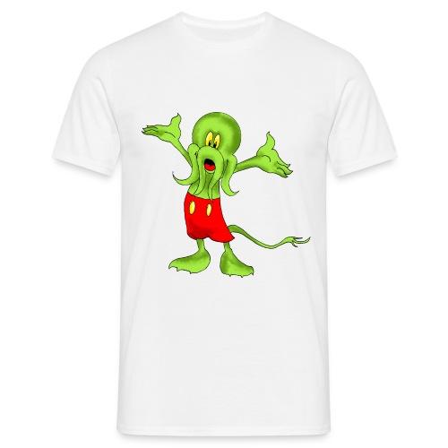 Mickthulhu (white) - Männer T-Shirt