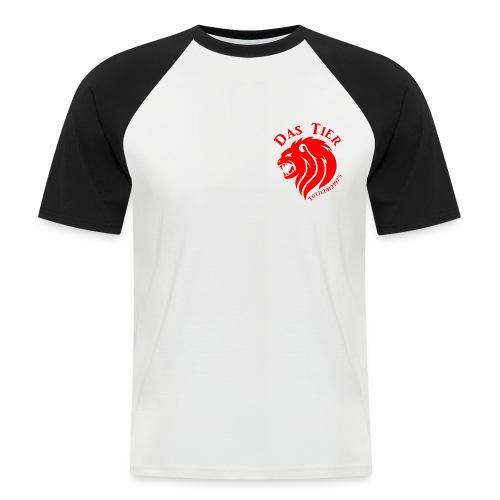 Das T steht für Tier - Männer Baseball-T-Shirt