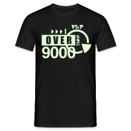 T-Shirts ~ Men's T-Shirt ~ [over 9000] phosphorescent