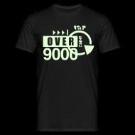 T-Shirts ~ Men's T-Shirt ~ [over 9000] phosphorescent