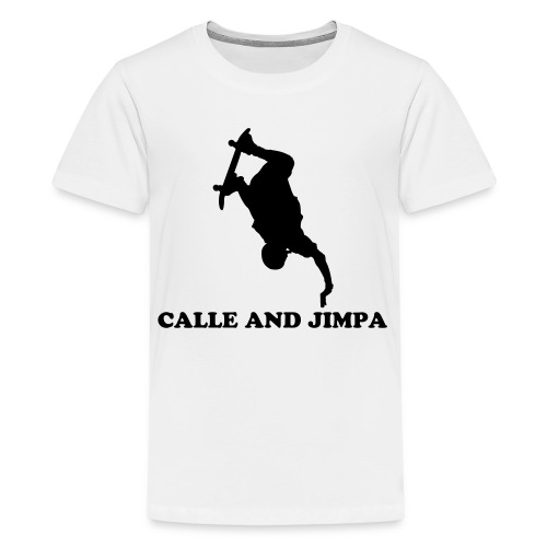 Calle and Jimpa Skate Collection - BackFlipper  - Premium-T-shirt tonåring