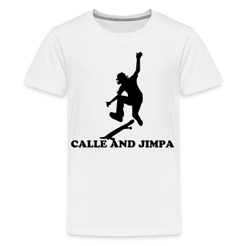 Calle and Jimpa Skate Collection - Dont lose the board  - Premium-T-shirt tonåring