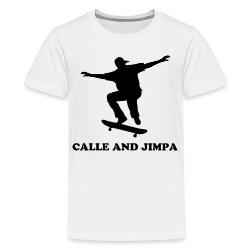 Calle and Jimpa Skate Collection - Rider  - Premium-T-shirt tonåring