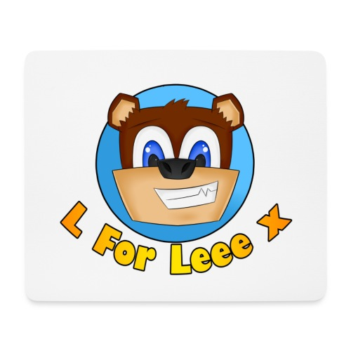 L for Leee x - Mouse Mat - Mouse Pad (horizontal)