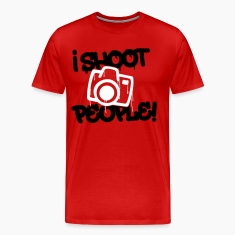 I shoot people - Photography T-Shirts
