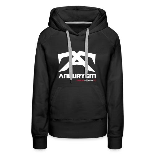 Aneurysm Hoodie Female - Women's Premium Hoodie