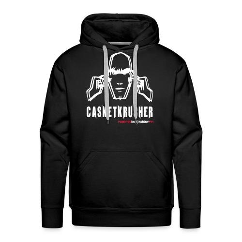 Casketkrusher Hoodie Male - Men's Premium Hoodie
