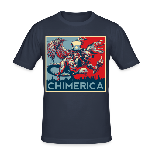 CHIMERICA! - Men's Slim Fit T-Shirt